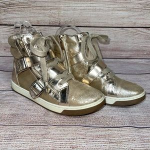 Vince Camuto Metallic 'Umily' High-Top Sneakers